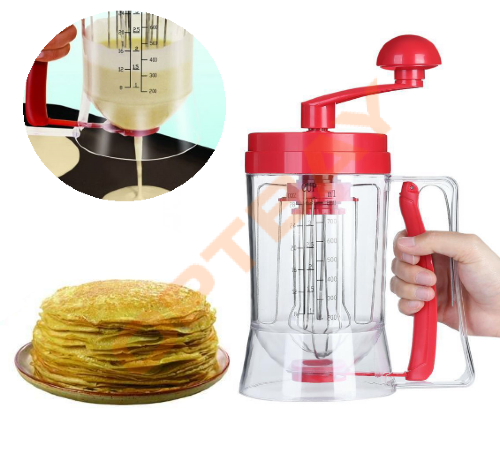 Универсальный миксер с дозатором PanCake Machine (ручная машина для блинов)